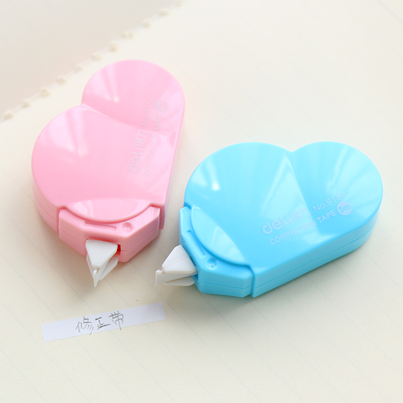 5mm X 5m Deli Cute Kawaii Cloud Mini Small Correction Tape Korean Sweet Stationery Novelty Office Kids School Supplies Children