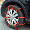 10 шт. универсальные автомобильные зимние шины противоскользящие цепи зимние шины мини пластиковые цепи противоскольжения на колеса для ав...