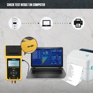 Image 3 - AUTOOL BT660 stampante per analizzatore di Tester di carico per batteria per Auto 12V CCA Auto a gomito ricarica Volt Test strumento diagnostico per veicoli digitale