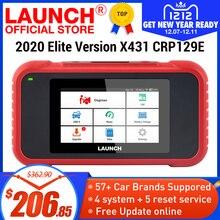 เปิดตัวX431 CRP129E OBD2 เครื่องมือสำหรับENG/AT/ABS/SRS Multi LanguageฟรีUpdate CRP123E CRP123 Creader VIII CRP129X