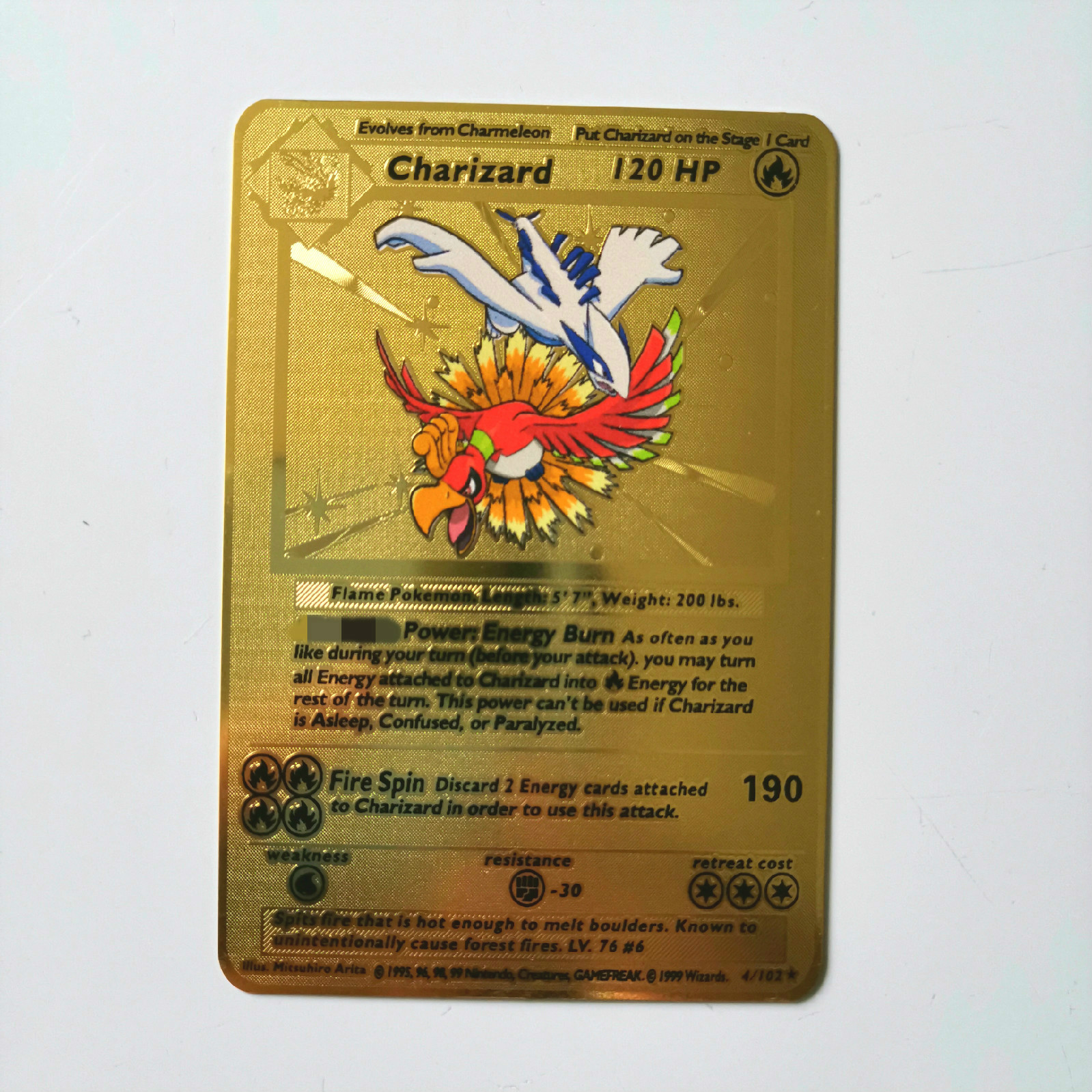 Dragon Ball золотая металлическая карточка супер игра Коллекция аниме-открытки игра детская игрушка - Цвет: I