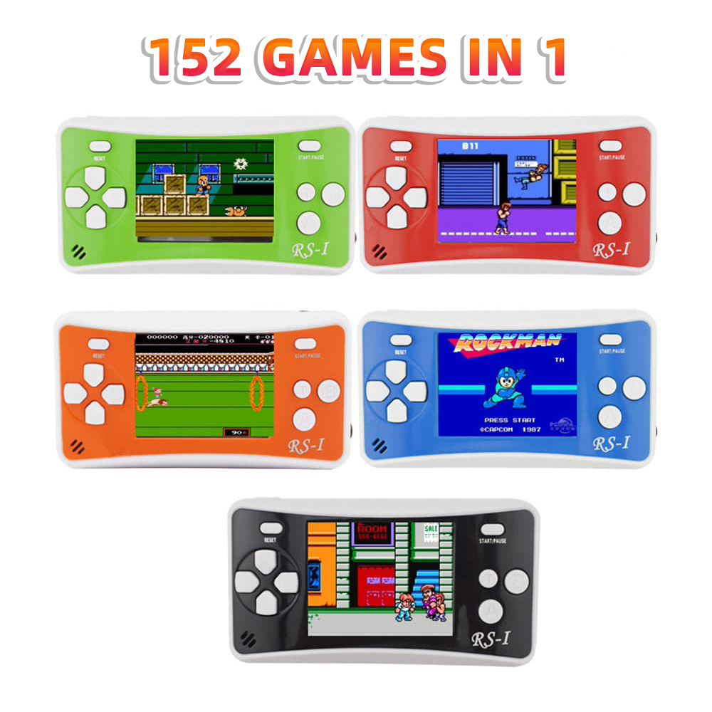 Retro Portable Handheld Video Game Console 8 Bit Tv Rs-1 Mini NES GB Boy Classic Pocket Gamese Arcade 152 Games in 1 for Kids