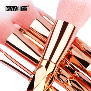 Image 2 - Maange 7/10Pcs Diamond Make Up Kwasten Set Poeder Foundation Oogschaduw Blush Blending Cosmetica Beauty Make Up Borstel tool Kits