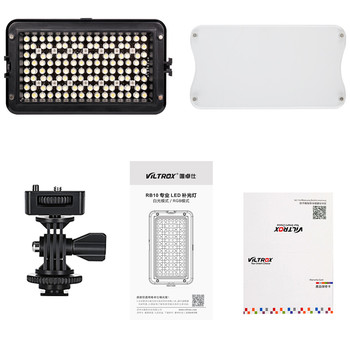 RB10 3300K-5600K RGB Colors Dimmable LED video Fill Light for YouTube Live canon nikon pentax camera