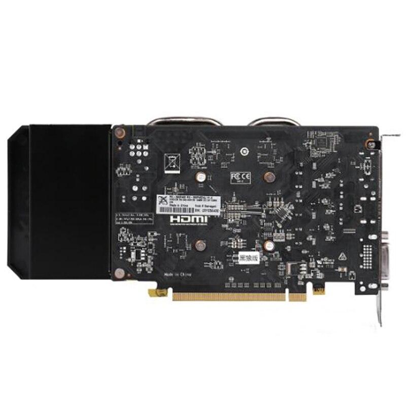 Оригинальная игровая графическая карта XFX RX560, не Майнинг, 4 Гб, 128 бит, для AMD Radeon RX560D, 4 Гб, GPU-4