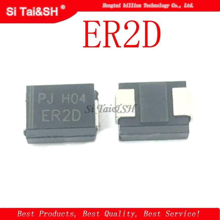 1 יח'\חבילה ER2D 2A 200V 35ns DO-214AA