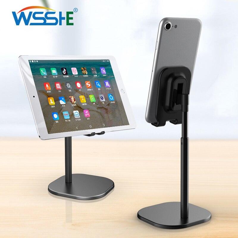 Universal Mobile Phone Holder Desktop Stand for Smartphone Tablet adjustable Desk Bracket Cell Phone stand Metal Mount Support