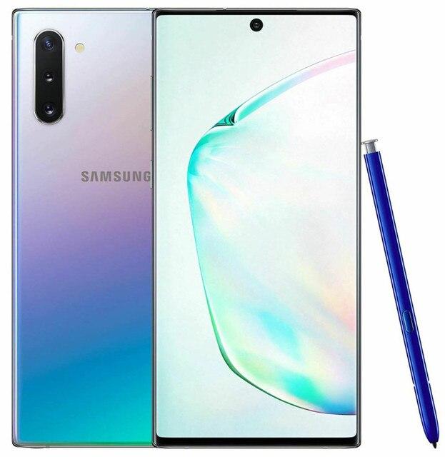 "Samsung Galaxy Note10 Note 10 5G N971N 6.3"" 256GB ROM 12GB RAM Octa Core NFC Exynos 9825 Triple Camera Original Mobile Phone 4"