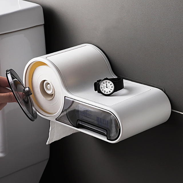 Toilet paper dispenser Bathroom tissue box
