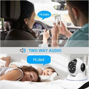 Image 3 - 1080P 3MP WIFIกล้องความปลอดภัยภายในบ้านHD Pan Tiltกล้องIP Two Way Audio Baby Monitorกล้องวงจรปิดIP cam 64G SD P2P