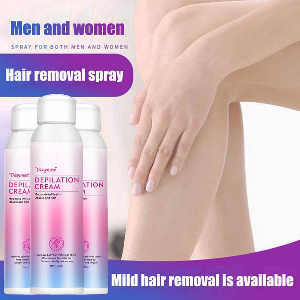 Hair Removal Spray Foam Mousse Students Body Underarm Legs Hair