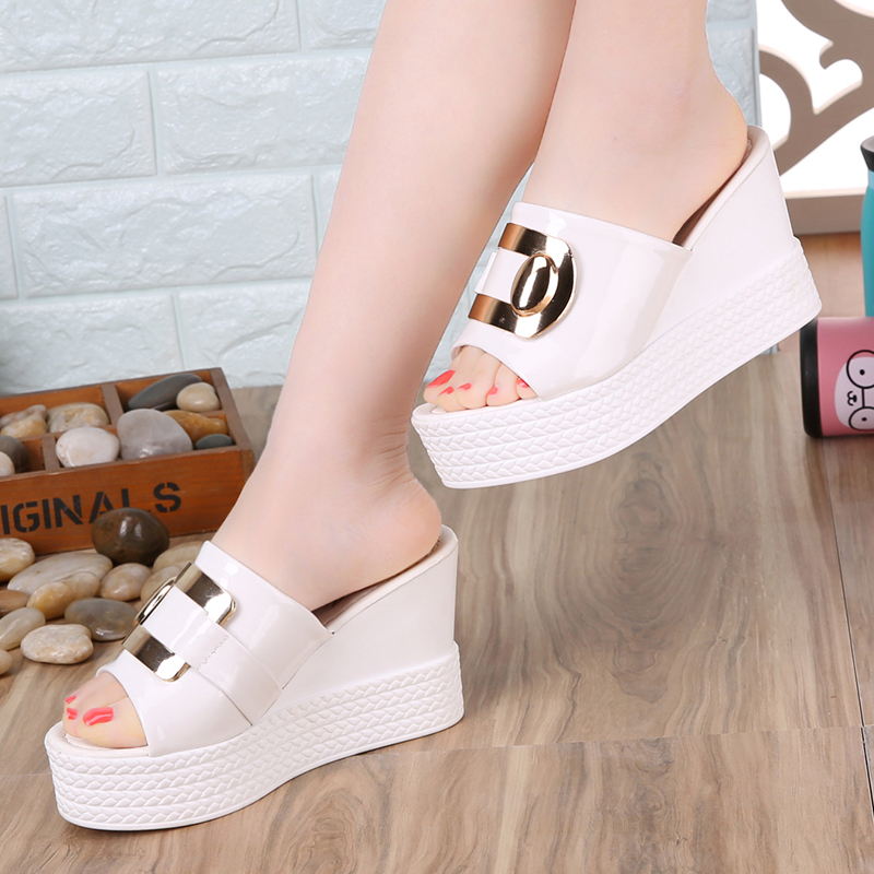 2018 Summer New style Arrived Sexy Platform Wedges Sandals Women Fashion High Heels Female Slippers a634 2018 Summer New style Arrived Sexy Platform Wedges Sandals Women Fashion High Heels Female Slippers a634