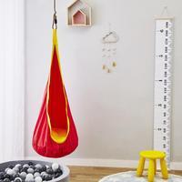 Solid Cloth Hammock Indoor Room Dormitory Bedroom Hanging Chair For Child Swinging Single Safety Hammock