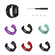 Watch Straps Replacement For Garmin Forerunner35/30 Accessories Soft Silicone Strap Wristband 1ew