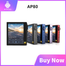 Hidizs AP80 Hi-Res ES9218P Ultraportable Bluetooth de música de alta fidelidad MP3 jugador tecnología LDAC USB DAC DSD 32/64 FALC DAP