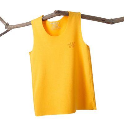 VIDMID Baby boys girls summer sleeveless t-shirt vests tops tees boys beach cotton girls kids Children's traceless vests 7128 01 4