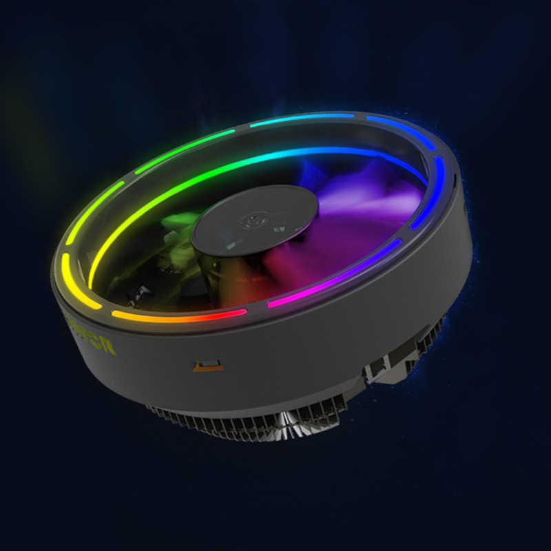 122 Mm Led Ultra Stille Computer Pc Case Fan Fijne Diafragma Rgb 12V Cpu Heatsink Cooler Master Koelventilator dc 12V 3P Connector