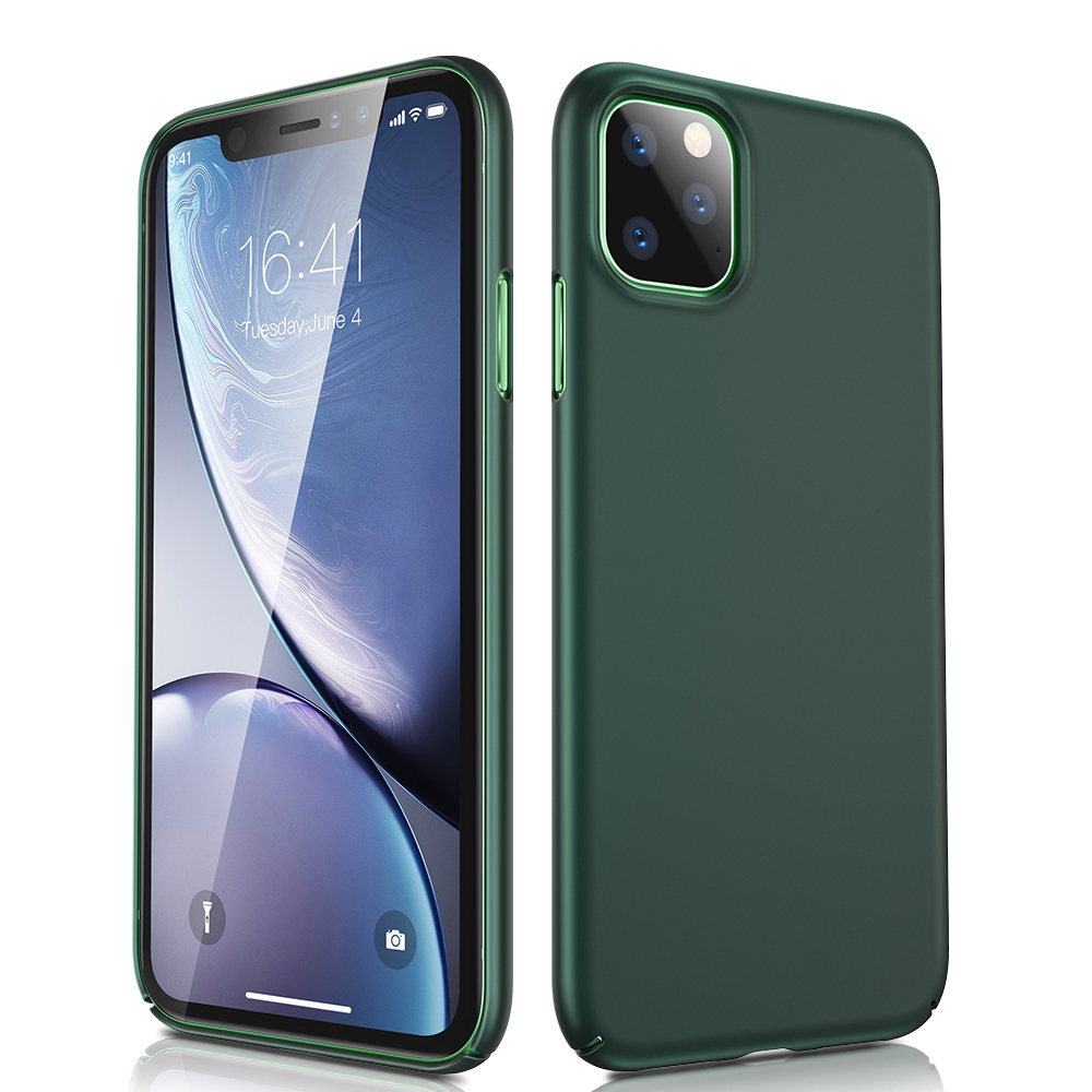 H739289b8ba2f44b1910a430273b9b65b6 ESR Case for iPhone 11 Pro Max 2019 Simple Protect Case Green Black Grip Brand Shockproof Protective Cover for iPhone11 iphon