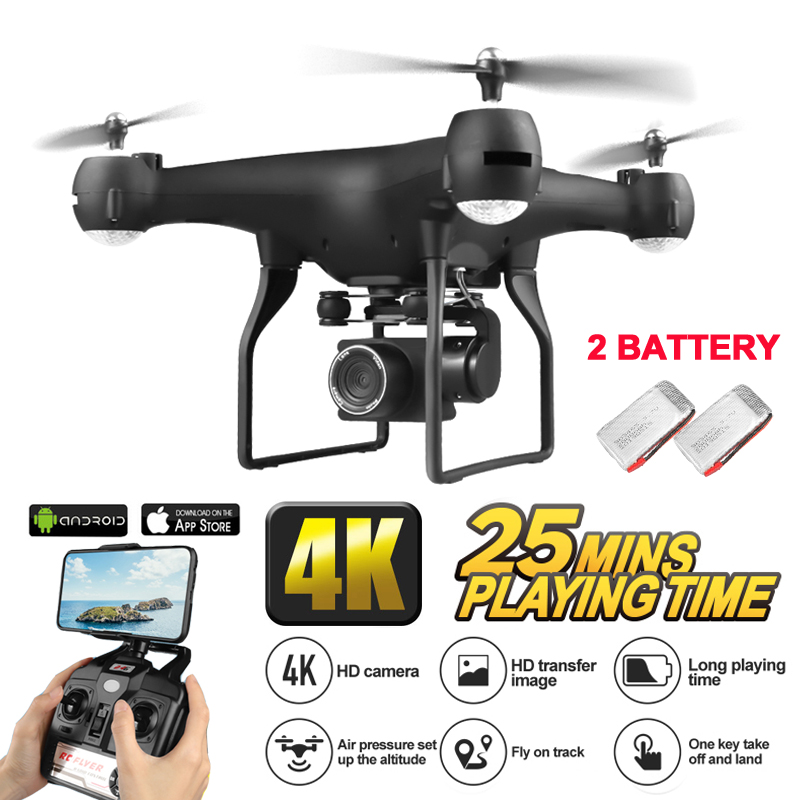 Drone 4K RC Quadcopter Drones With Camera Adjustable HD 1080P Wifi Real Time Video Stable Dron Rc Helicopter VS Visuo XS816