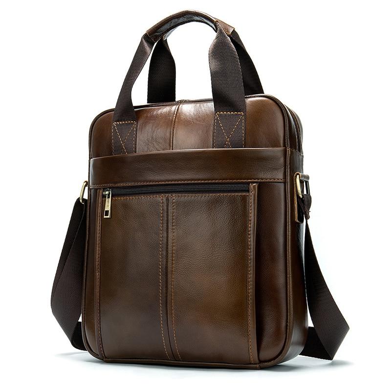 Men's Shoulder Bag Classic Men's Retro Leisure Messenger Bags Hot Selling  Crossbody Bags Handbag Briefcase