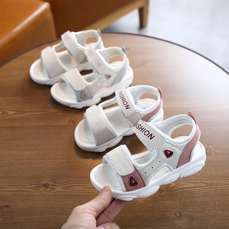 Baby Children's Sandals Boys Baby Beach Shoes 2020 Summer New Breathable Kids Shoes Fashion Little Girl Sandals