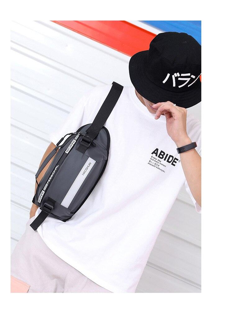 de correr perto saco pacote peito reflexivo anti roubo pacote caixa móvel