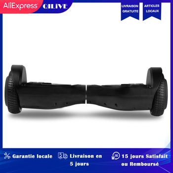 цена на Qilive Electric Scooter hoverboard Skateboard 10 inch Two Wheels Smart Balance Hoverboard LED Bluetooth Speaker Romote Control