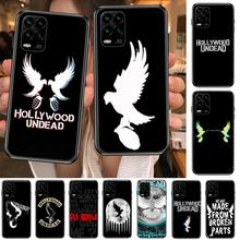 hollywood undead Hard cartoon Phone Case For XiaoMi Redmi Note 10 9S 8 7 6 5 A Pro T Y1 Anime Black Cover Silicone Back Pre