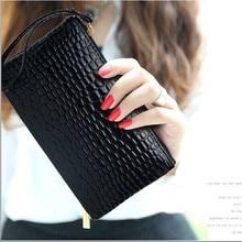 2019 High-grade stone pattern Tassel Wallet Women Long Cute Wallet Leather Tassel Women Wallets Zipper Portefeuille Female Purse