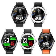 Q30 Full Touch Color Screen Smart Watch Heart Rate Sleep Sports Call Information Reminder Pressure Monitor IP67 Waterproof ECG giausa smart watch women ip67 waterproof watch heart rate sleep monitor information call reminder smart sport watch men box