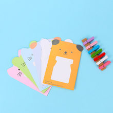 Wall Deco DIY Creative Mini Paper Photo Frame With Mini Colored Clothespins And Twine -Fit Instax Mini Film 6 Pcs/Set(China)