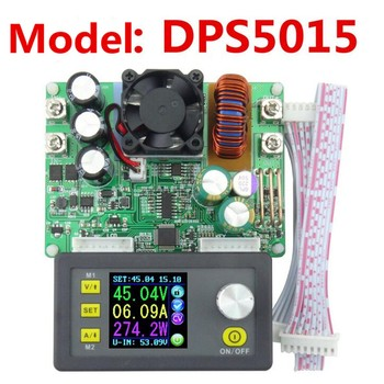 DPS5015 Digital Adjustable Programmable Step-Down Buck Converter Power Supply Module with LCD Display