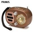 PRUNUS Ретро Радио Bluetooth динамик портативный AM FM коротковолновый радио с перезаряжаемой батареей Поддержка USB MP3-плеер и TF карта