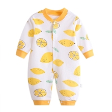 Toddler Baby Clothes Long Sleeve Cotton Infants Baby Girls Clothing Romper Cartoon Costume Ropa 3-12 M Newborn Boy Girl Jumpsuit 2017 newborn baby boy winter long sleeve cotton clothing toddler baby clothes romper warm cartoon jumpsuit for 0 12 months