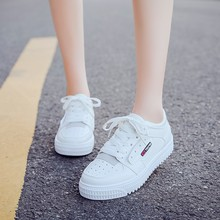 Spring Women Vulcanize Shoes Sneakers Shoes Ladies Lace Up Sweet Breathable Shallow Casual Loafers Plus Size Chaussure C0054