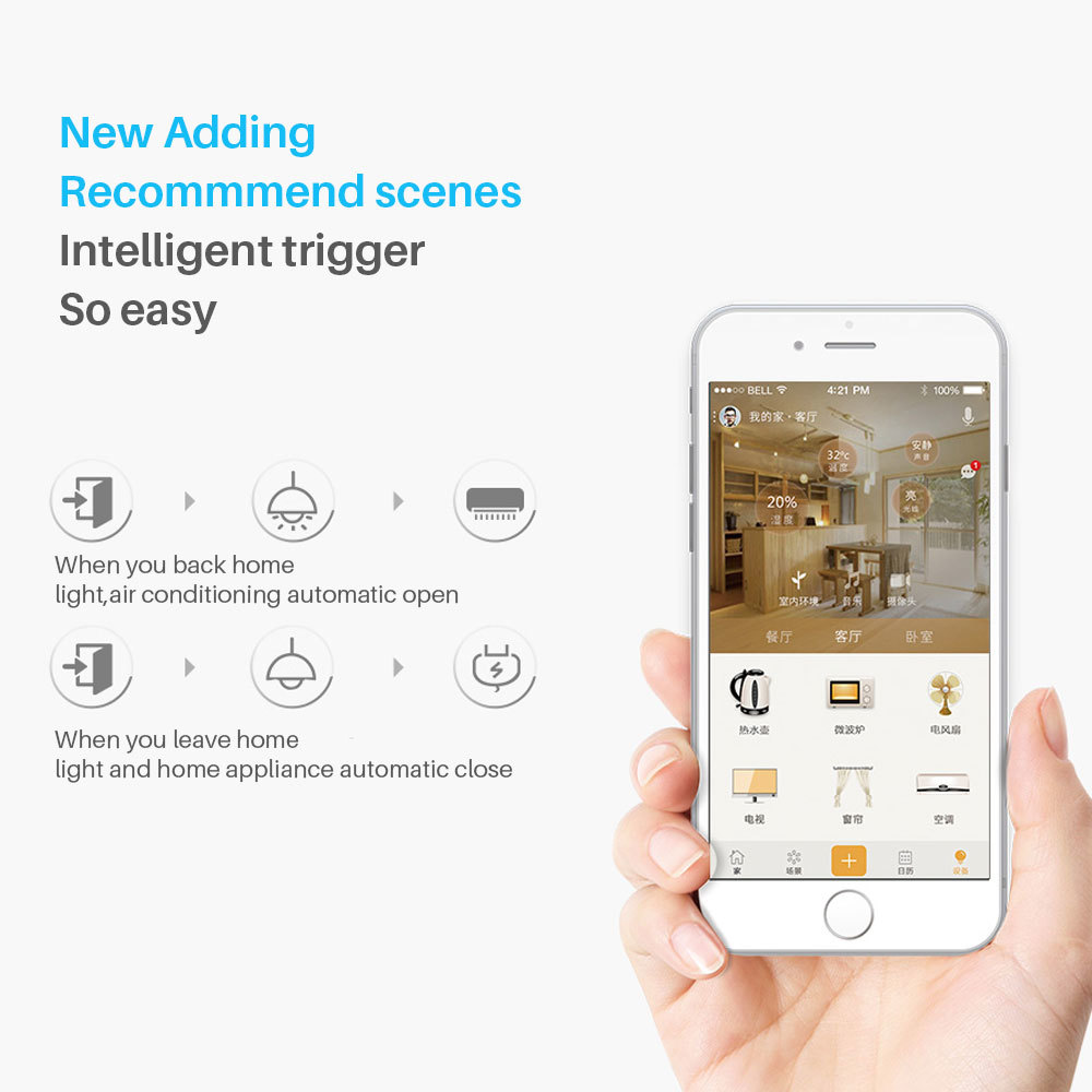 Broadlink RM Mini 3 IR Remote Controller Smart Home Automation Smart House APP Control Compatible With Alexa ok Google home Mini