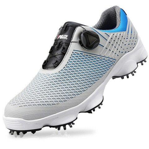 para Homens Jovens Sapatos de Golfe à Prova Dwaterproof Água Respirável Antiderrapante Tênis Rotativa Sapatos Stiletto Esportes