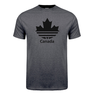 Cool New Design Canada T Shirt Men Funny Canadian T Shirts Short Sleeve O-Neck Cotton Mans Canada Flag Tshirt Tops Free shipping(China)