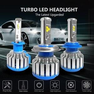 Image 3 - CNSUNNYLIGHT H4 Hi/lo H7 H11 9006 רכב LED פנס 9005 HB3 HB4 H1 H13 גבוהה כוח סופר לבן 6000K נורות להחליף מנורה מקורית