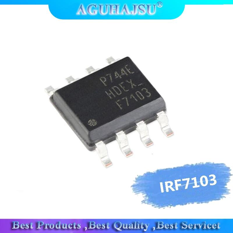10PCS IRF7103TRPBF SOP8 IRF7103TR IRF7103 F7103 MOSFET MOSFT DUAL NCh 50V 3.0A New Original