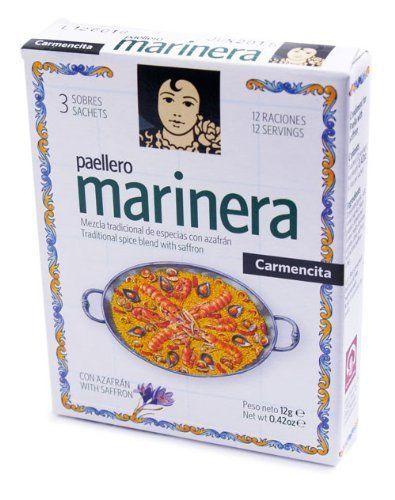 Carmencita Paellero Marinera Paella Spice Mix By Proaliment Jesus Navarro S.A.