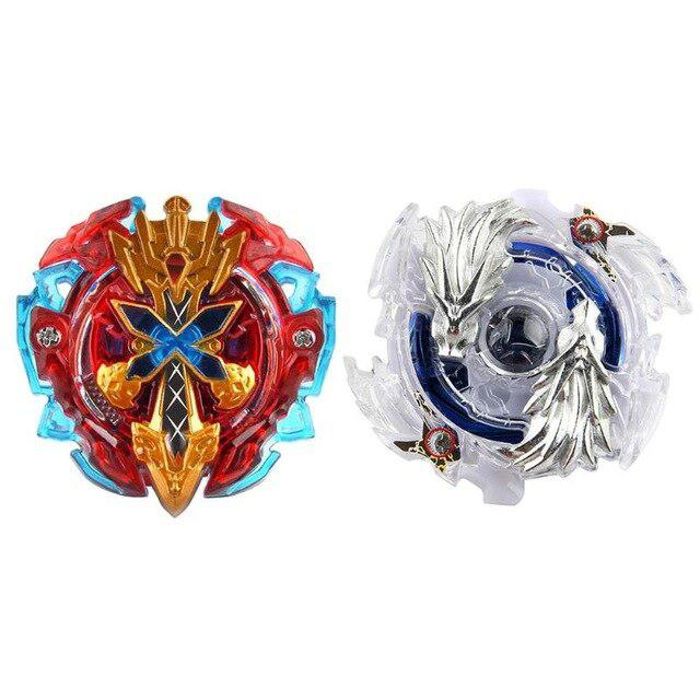 HobbyLane Spinning Top With Beyblade Launcher Alloy Gyroscope Whipping Top Beyblade Burst Kids Bey Blade Toys Gifts Classic Toys