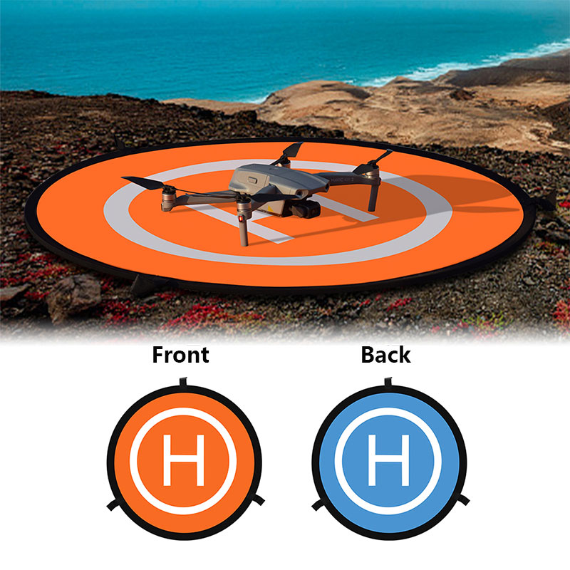 55 75CM Landing Pad for DJI Mavic Pro Air 2 Mavic 2 Zoom Spark Phantom 3 4 Inspire Yuneec Drone Helicopter Folding Parking