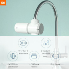 New Xiaomi Mijia Tap Water Purifier Percolator Water Kitchen Faucet Activated Carbon Filtro Rust Bacteria Replacement Filter xiaomi mijia faucet water purifier filter kitchen tap filter water purifier with 4pcs free activated carbon