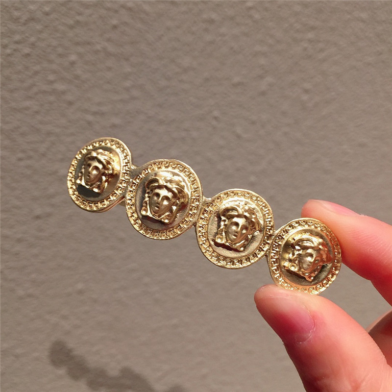 Fashion French girl British style hair clips retro metal hairpins exquisite spring clip hair accessories in Women 39 s Hair Accessories from Apparel Accessories