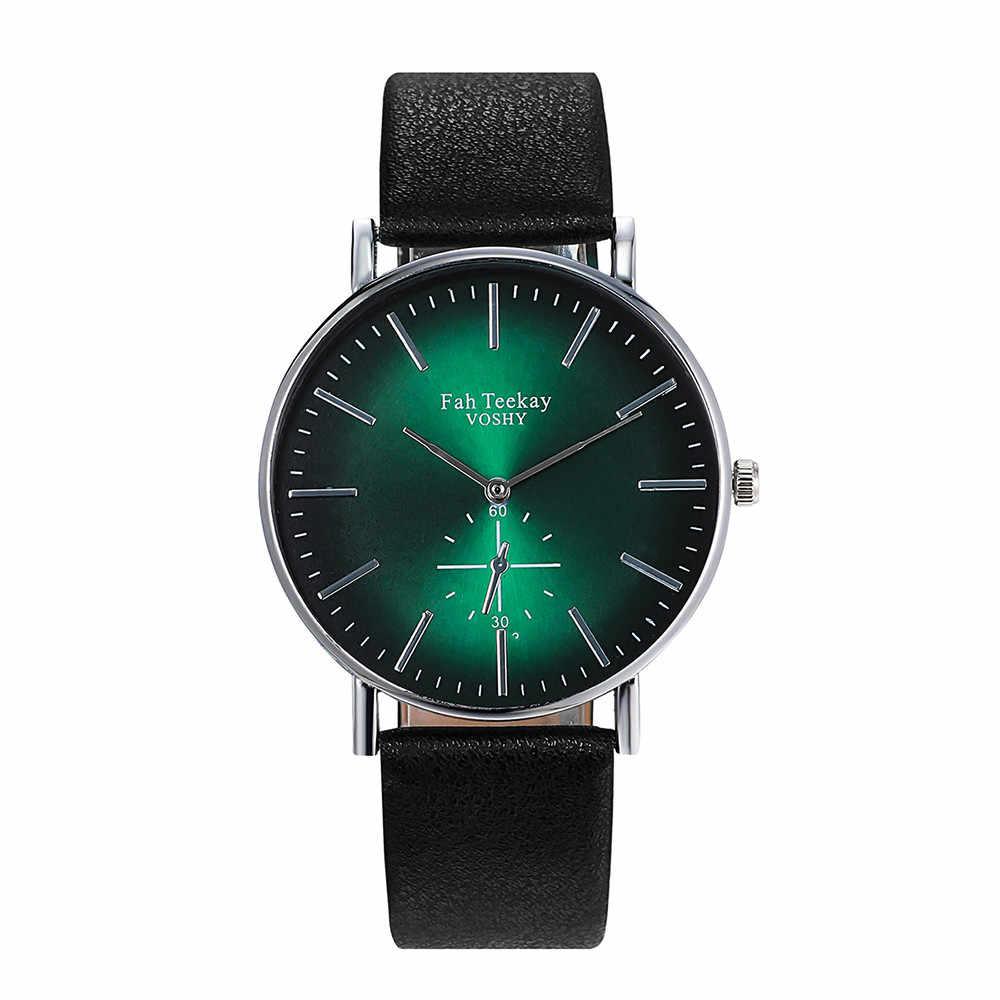 カジュアル腕時計女性高品質ドレスウォッチブレスレット防水革バンド腕時計 2019 ブランドの高級 Montres ファム %