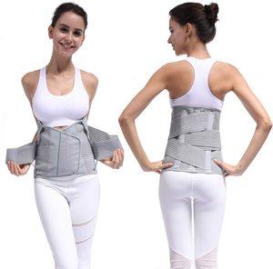 Image 2 - HKJD Medical High Back Brace Waist Belt Spine Support Men Women Belts Breathable Lumbar Corset Orthopedic Back Support