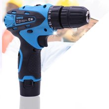 12v Multifunctional Electric Hand Drill Household Cordless Screwdriver Drill Rechargeable Power Tools Screwdriver Electric Tools professional 1set dc powered electric screwdriver 800 small power supply 10 bits hand tools