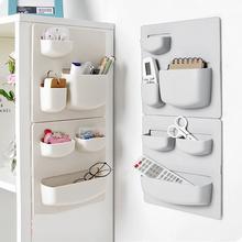 Self-adhesive Home Wall Mounted Storage Rack Keys Pencils Holder Organizer Shelf