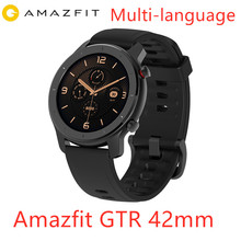 Amazfit GTR 42mm montre intelligente Huami 5ATM étanche sport Smartwatch 24 jours batterie contrôle de la musique avec GPS fréquence cardiaque